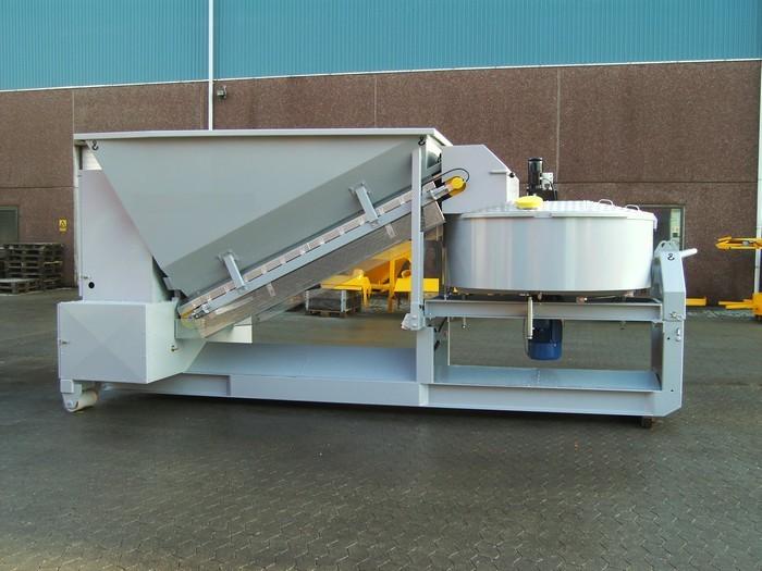 Köpa Mobil betong blandare Sumab C15-1200