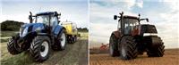 Traktorer från New Holland och Case IH
