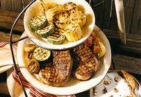 Frysta grillade grönsaker