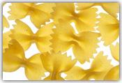 Fryst förkokt pasta