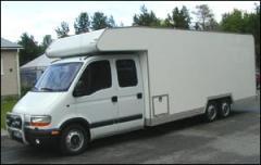 Specialpåbyggnader på lätta lastbilar