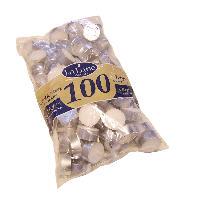 Värmeljus 100-pack