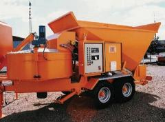 Mobil betong blandare Sumab B15-1200