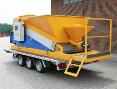 Kompakt mobil betongfabrik Economy SUMAB mini.