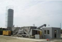 Mobil betongfabrik