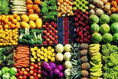 Delade och filmade frukter/grönsaker